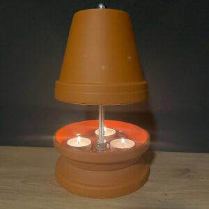 Teelichtheizung Teelichtofen Kerzenofen Tischkamin Teelichthalter 25cm hoch NEU