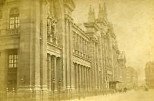 France Paris Railway Station Gare du Nord Cabinet Photo Debitte & Herve 1875