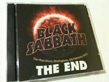 Black Sabbath Double CD Birmingham England The Final Night THE END TOUR