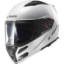 Ls2 Casco Moto Integrale Ff324 Metro Solid Bianco S