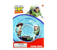 """New listing Disney Toy Story Buzz & Woody Kids Swimming 20"""" Swim Ring Tube Toy Pool Floats"""