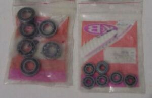 K&B 8775 and 8776 Front and Rear Bearings