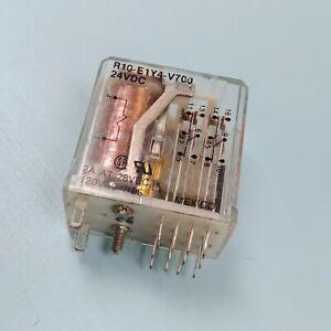 Potter & Brumfield R10-E1Y4-V700 4PDT Relay - 24VDC 2A - 1pcs
