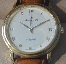 BLANCPAIN Villeret Ultraflach Automatik Gold 750 Datum No 115 Ref 1195-1418-58