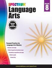 Spectrum: Spectrum Language Arts, Grade 8 (2014, Paperback)