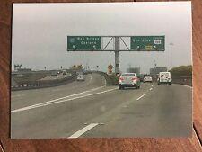 Bay Area traffic - San Francisco, Ca. collectors postcard