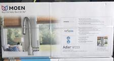Moen Adler 87233 Chrome One Handle High Arc Pulldown Kitchen Faucet