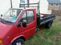 1998 Transit smiley 190 pickup tipper - for spares or repair. Pick up Burnley