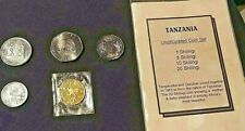 TANZANIA 5-COIN SET, Uncirculated.