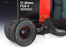 SIGMA EX 17-35mm f/2.8-4 D Aspherical-Nikon AF