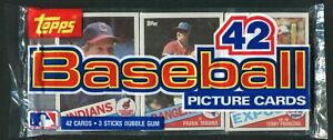 1985 Topps Baseball Cello Rack Pack - McGwire Clemens Gooden Ripken ???