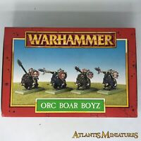 Part-metal Orc Boar Boyz - Boxed, untouched - Warhammer Age of Sigmar W53