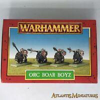 Part-metal Orc Boar Boyz - Boxed, untouched - Warhammer Age of Sigmar W53
