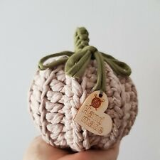 Crochet Decorative Pumpkin/ Autumn/ Halloween/Home decor