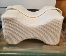 Everlasting Comfort Memory Foam Knee Pillow with Adjustable Leg Strap