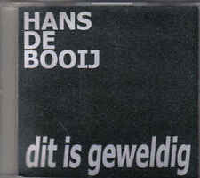 Hans De Booij-Dit Is Geweldig Promo cd single