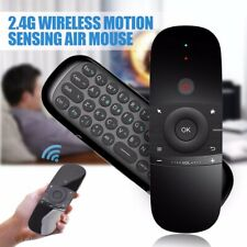 W1 Keyboard Mouse Wireless 2.4G Fly Air Mouse Dual Side IR Remote Control USB