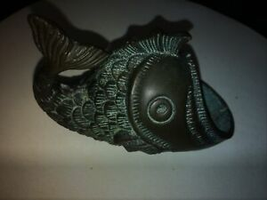 Vintage Bronze Fish