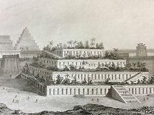 Mésopotamie royaume Babylone Babylonie jardins suspendus 7 merveilles du monde