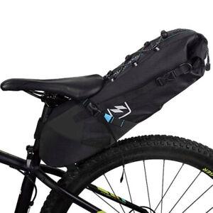 Sahoo Attack Series 10Ltr Large Waterproof Gravel Bike Packing Saddle Pack UK