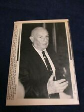 Wire Press Photo 1991 William Seidman FDIC New England Corp. boy-out deal