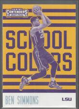 BEN SIMMONS 2016-17 Panini Contenders Draft Picks School Colors #1 LSU RC Mint