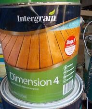 INTERGRAIN Dimension 4 in 4 litre cans  water based