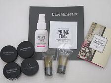 BARE ESCENTUALS bare Minerals 8pc Foundation & Brush Sample Set * MEDIUM BEIGE