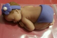 Fondant Baby Cake Topper, Party favor, Great for Baby Showers Fully CUSTOMIZABLE