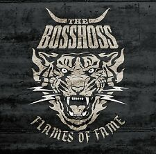 CD*THE BOSSHOSS**FLAMES OF FAME***NAGELNEU & OVP!!!
