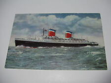 Lot11s - UNITED STATES LINE - SS UNITED STATES Official POSTCARD