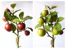 Artificial Apple Stem x 5 apples