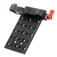 CNC Tripod Mount Cheese Plate Base for 19mm Rod for Rail Follow Focus Rig 5D2