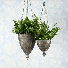 5 Stück Stabile Hänge- Blumenampel 14cm 16cm oder 18cm Farbe Terrakotta