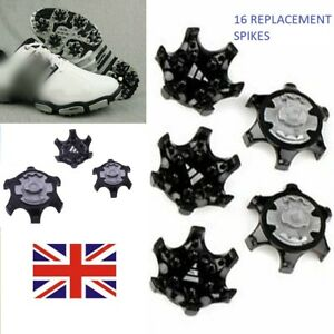 16x Screw Golf Shoe Spikes Studs Replacement Champ Fast Twist Cleat System