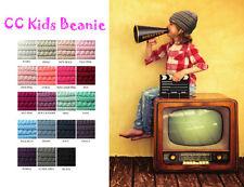 Brand New Kids CC Beanie Cute Warm and Comfy Children's Knit Ski C.C Beanie Hat