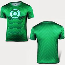 Men Casual Sports T-Shirt Short Sleeve Marvel Superhero Costume Top Jersey Shirt
