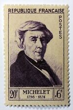 Frankreich Prominente Briefmarke Neu n°949 MNH Jules Michelet B4