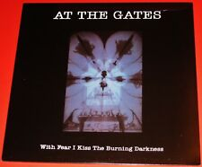 At The Gates: With Fear I Kiss The Burning Darkness LP Vinyl Record 2013 NEW