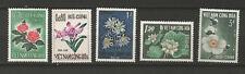 Vietnam du Sud fleur 1965 Y&TN°264/268 5 timbres neufs MNH /T5954