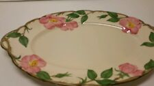 Franciscan Desert Rose Oval Platter 12 5/8 X  8 1/2 Made in the USA California