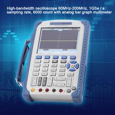 "KIT 100-240V DSO1062B Portatile Oscilloscopio 60MHz 2CH 1Gsa/S Record 5.6"" TFT"
