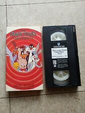 The Looney Tunes Video Show #1 on Vhs Oop Looney Tunes Cartoons Shorts