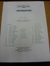 11/12/1986 Everton Reserves v Aston Villa Reserves  . Thanks for viewing this it