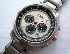 BMW Classic All Titanium Case Business Sport Design Medium Watch Chronograph