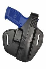 B9 100% Leder GL Pistolenholster Gürtel Holster für FN FNS 9 / 40 VlaMiTex NEU