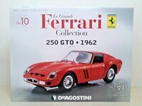DeAgostini 250 GTO 1962 1/24 Scale Le Grandi Ferrari Collection No.10 Japan New