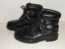 FREE SHIPPING - Harley Davidson Men's Badlands Motorcycle Boots Size 9  # 91005