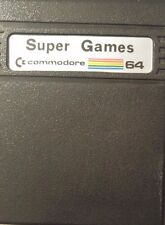 Super Games C64 Commodore 64 Modul (1988) Int. Soccer, C. Chess, Silicon Warrior