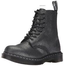 Dr Martens Pascal Boots 8 Eye Pebble Metallic Leather Women US 9 EU 41 NEW $198